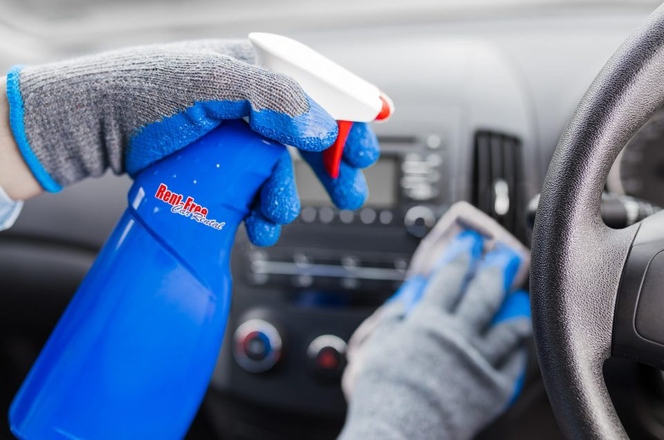 Rigorous sanitising & disinfecting programs for all our vehicles!